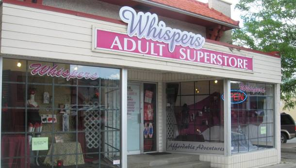 Kamloops BC - Whispers Adult Super Store