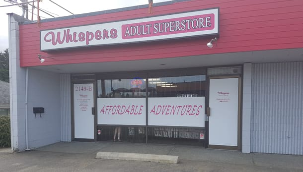 Nanaimo BC - Whispers Adult Super Store